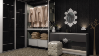 Dressing Room Render