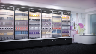 Mall Perfume Store Render