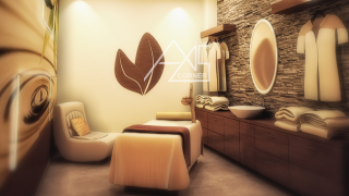 Massage Room Render