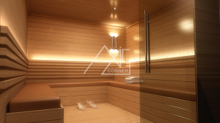 Spa Room Render